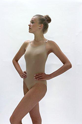 Unterziehbody Damen Hautfarben - (Kostüm Sportswear)