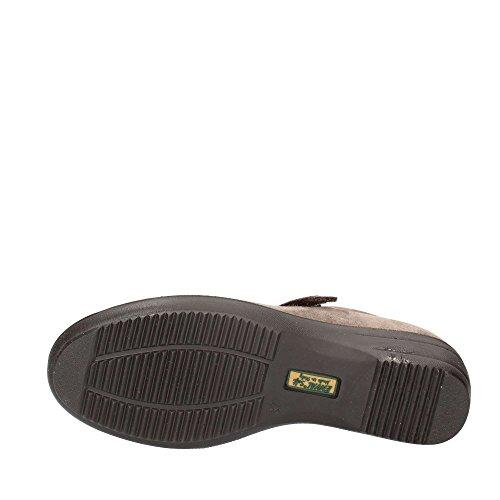 ENVAL SOFT donna scarpa strappo e zeppa 69406/00 Visone