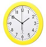 TFA-Dostmann Funk-Wanduhr TFA 60.3512.07 gelb mit Lautlos Sweep-Uhrwerk 300 mm Funkuhren