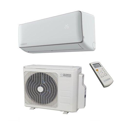 Olimpia Splendid Klima Splitgerät Inverter mit Wärmepumpe 12.000 BTU/h, Aryal S1 E Connect 12, Italienisches Design, EEK A / A++