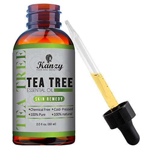 Teebaumöl - Essential Tea Tree Oil - zum aromatherapie hautpflege körper kaltgepresst.(60ml)
