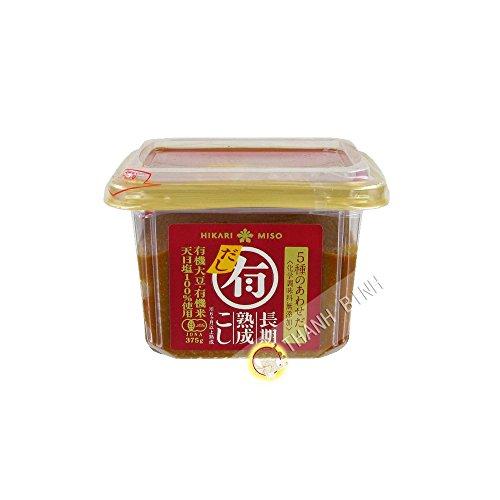 Pasta di Miso Dashi Organico HIKARI 375gr Giappone - Confezione da 3 pz
