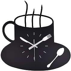 NS Sala Reloj De Pared, Moderno Sencillo Silencio Sin Tic-TAC Grande Reloj De