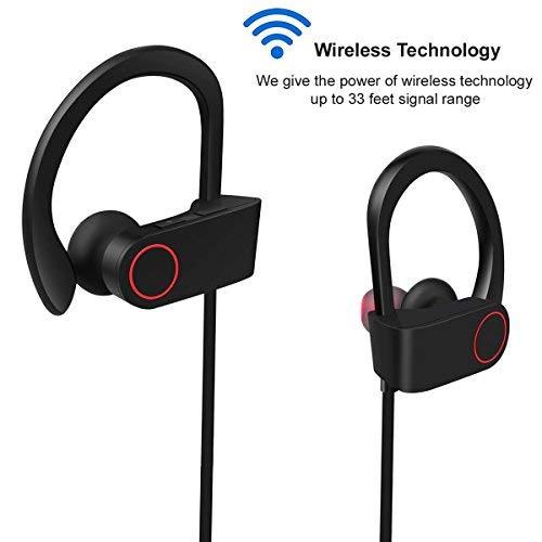 Bluetooth Kopfhörer, ARTHOME Bluetooth 4.1 Sport Stereo In Ear Kopfhörer inklusive Mikrofon für iOS- und Android-Geräte usw, für iPhone, iPad, Samsung, Nexus, HTC und mehr - 2
