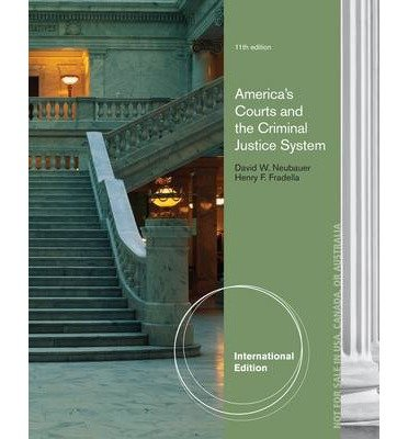 [(America's Courts and the Criminal Justice System)] [ By (author) David W. Neubauer ] [February, 2013]
