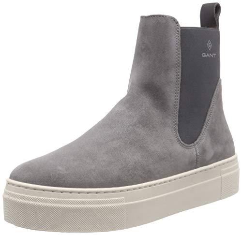 GANT Footwear Damen Marie Schlupfstiefel, Grau (Ash Gray G863), 40 EU - Ash Damen Schuhe Stiefel