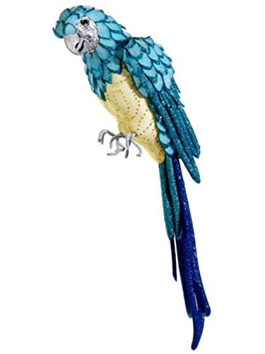allstate-life-size-tropical-paradise-blue-and-yellow-parrot-bird-with-tail-feathers-22-by-allstate