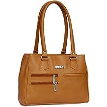 Fristo Women Handbag(FRB-299) Tan
