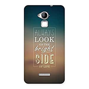 Neo World Bright Side Back Case Cover for Coolpad Note 3
