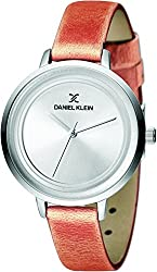 Daniel Klein Analog Silver Dial Womens Watch-DK11374-5