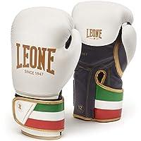 LEONE 1947 GN039 Guantes de Boxeo, Unisex – Adulto, Blanco, 10OZ
