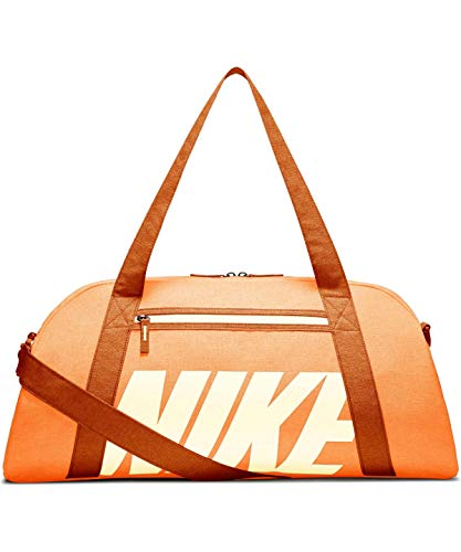 Nike Gym Club Training Duffel Bag Bolsa de Deporte, Mujer, Fuel Cinder Orange/Pale Ivory, MISC