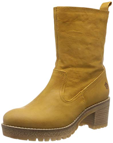 Apple of Eden Damen Anne Stiefeletten, Gelb (Yellow 23), 38 EU