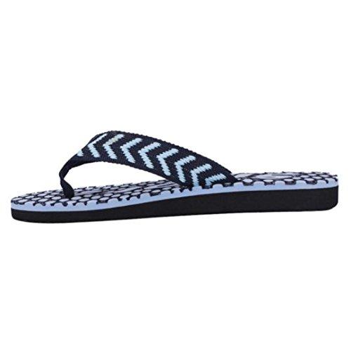 Kolylong Männer Flip Flops Sommer Sandalen Slipper Blau