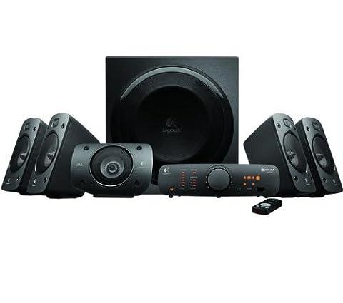 LOGITECH Haut-parleurs 5.1 Z906 + Adaptateur de haut-parleurs sans fil pour dispositifs audio