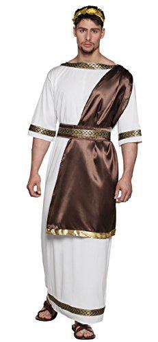 erdbeerloft - Herren Hochwertiges Kostüm Zeus, Mehrfarbig, M/L
