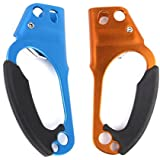 Imported 1 Pair Hand Climbing Hand Ascender for Firefighting Rappelling 8-12mm Rope