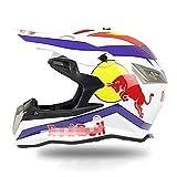 FHGH Fullface Helm,Motorradhelm Integral-Helm Motocross-Helm DOT/CE-Zertifizierung Herrenlokomotive...