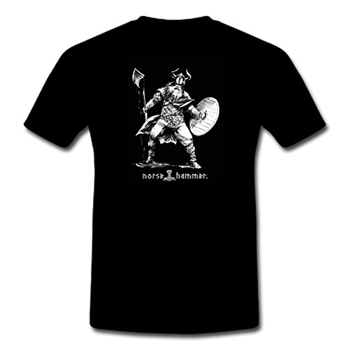 "T-Shirt ""Axe Warrior"" Schwarz"