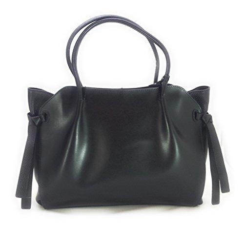 Borsa Shopping bag Cromia Linea Fiore Cod. 1403039 NERO