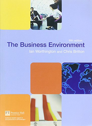 Valuepack:The Business Environment/The Smarter Student:Study Skills & Strategies for Success at University: AND The Smarter Student, Study Skills and Strategies for Success at University