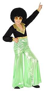 Atosa 28312 - Disco Dancer, joven, verde, tamaño 104, negro/verde