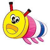 MagiDeal Tragbar & Faltbar Pop-up Cartoon Raupe Tunnel Kinder Indoor & Outdoor Spielzeug - Mehrfarbig