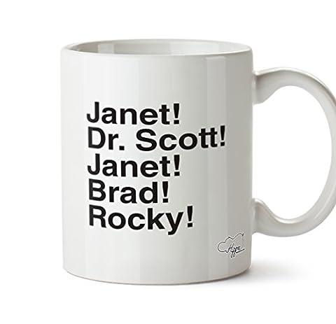 Rocky Horror Outfits - Hippowarehouse Janet. Dr. Scott. Janet. BRAD. Rocky.