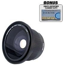 42X. HD Super gran angular panorámico Macro Objetivo ojo de pez para el Pentax K-x y cámaras réflex digitales tiene cualquier de estas (18-55mm, 50 - 200 millimeter) lentes de Pentax