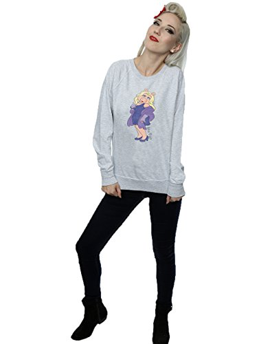 Muppets Femme Classic Miss Piggy Sweat-Shirt Heather Gris
