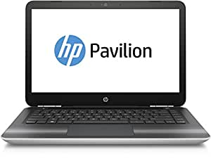 HP Pavilion 14-al003ng 35,6 cm (14 Zoll / FHD IPS) Notebook (Intel Core i5-6200U, 8 GB RAM, 256 GB SSD, Nvidia GeForce 940MX, Windows 10) silber
