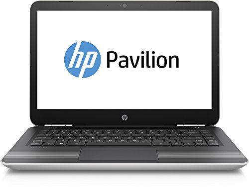 HP Pavilion (14-al004ng) Notebook da 35,6 cm (14 pollici Full HD IPS) 8 GB di RAM, 256 GB SSD, Windows 10), color argento argento Intel Core i5-6200U
