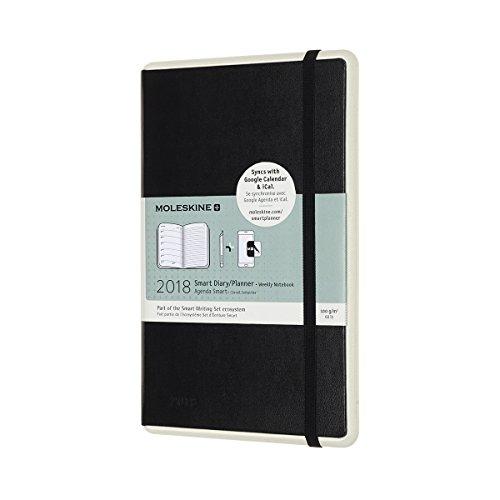 MOLESKINE+ Paper Tablet Smart Planner I Settimanale Per Smartpen Pen+ I Sincronizza Gli Appunti Scritti A Mano I Agenta Digitale Portatile - Nero