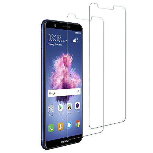 TUCNIPUS Panzerglas Schutzfolie für Huawei P Smart,[2 Stück] Panzerglasfolie-3D Touch Kompatibel, 9H Härte, Anti-Öl, Kratzer,Blasen & Fingerabdruck Bildschirmschutzfolie für Huawei P Smart