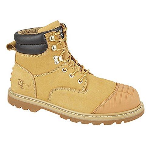 Grafters Protector - Chaussures montantes de sécurité - Homme Miel