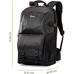 Lowepro 250 AW II Fastpack Backpack for Camera, Black