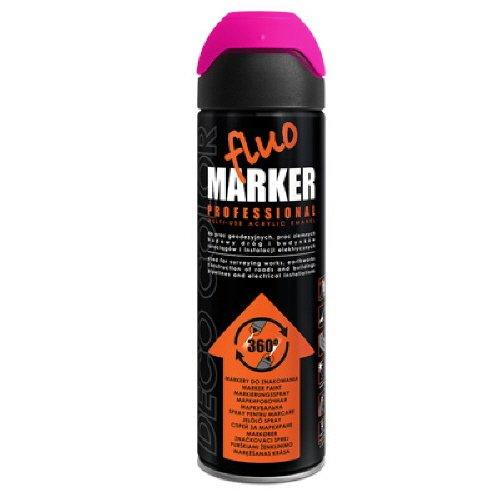 Preisvergleich Produktbild 1 Stück 500ml Markierungsspray Spray Kennzeichnungsspray pink 14540