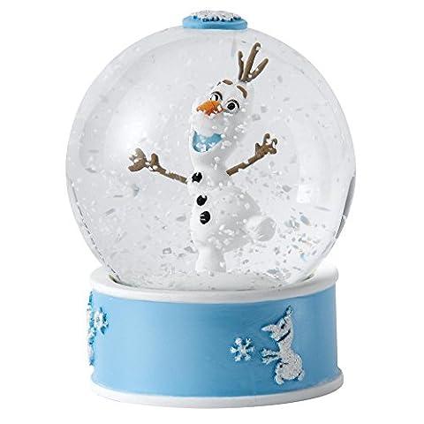 Disney A27143 Enchanting Olaf Waterball, Stein, mehrfarbig, 8 x 8