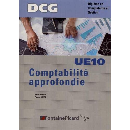 Comptabilité approfondie DCG UE10