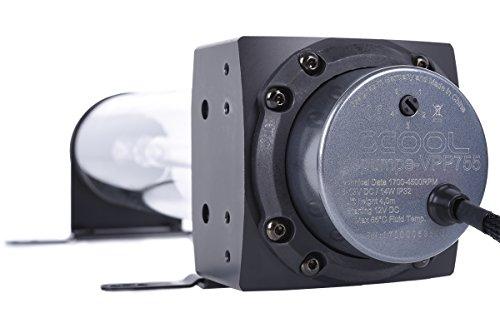 Alphacool 13308 Eisbecher D5 250mm Acetal Reservoir incl. 1x Eispumpe VPP755 WaterCooling Pompe