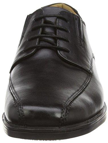 ClarksTilden Walk - Scarpe stringate uomo Nero (Black Leather)