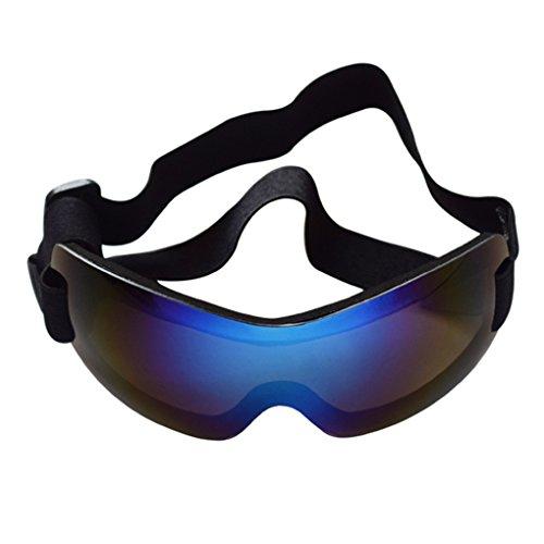 Coconut Pet UV-Schutz-Randlos-Sonnenbrille Augenverschlei?schutz mit verstellbaren Riemen f¨¹r gro?e Hunde
