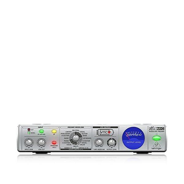"Preamplificatore Microfonico Behringer MINI MIC800 9,5"" 16 Voicing Phantom"