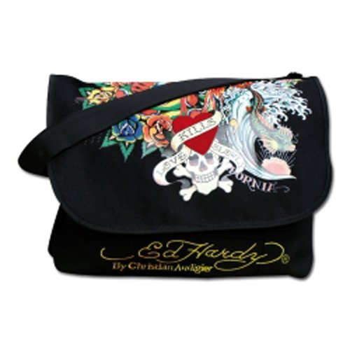 "Produktbild Ed Hardy Courier Bag ""Ed Hardy - Deluxe Tattoo"""