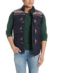 US Polo Association Mens Casual Shirt (8907163188526_USJK0371_Navy_M)