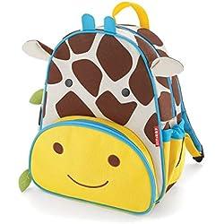 Skip Hop Zoo - Bolsa de almuerzo, mochila y botella de paja – jirafa