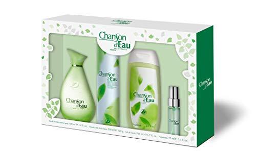 Chanson D 'Eau Set avec vaporisateur 100 ml + Gel 200 ml + Déodorant 200 ml