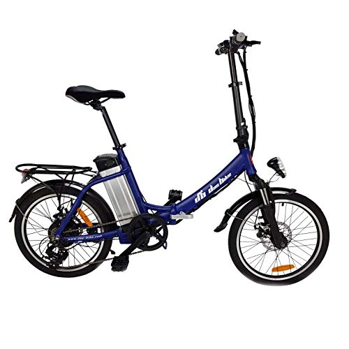 """Tooco Das.Bike ALU Elektrofahrrad 20\"""" E-Bike Klapprad Faltrad Elektro Fahrrad 20 Zoll E Bike (Dunkelblau)"""