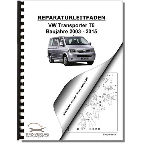 VW Transporter/Bus T5 (03-15) Fahrwerk, Achsen, Lenkung - Reparaturanleitung