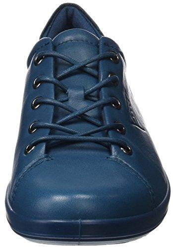 Ecco Damen Soft 2.0 Derbys Blau (Dark Petrol)